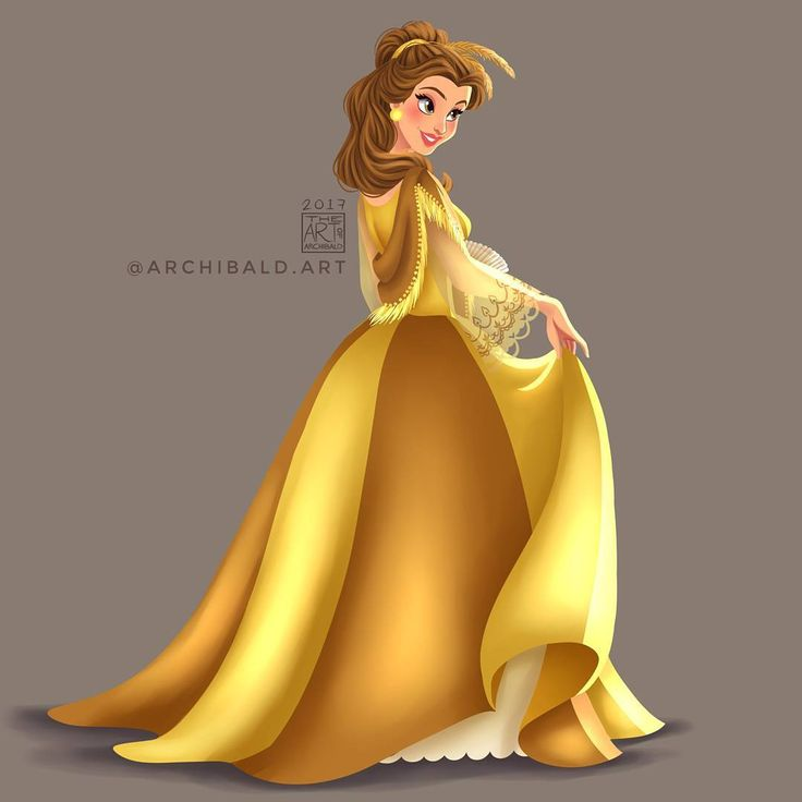 Belle in another version of Baro't Saya by archibald.art