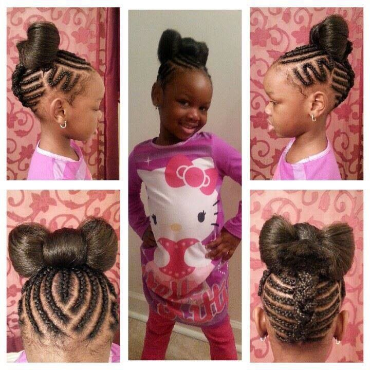Prime 1000 Images About Little Black Girl Hairstyles On Pinterest Hairstyles For Women Draintrainus