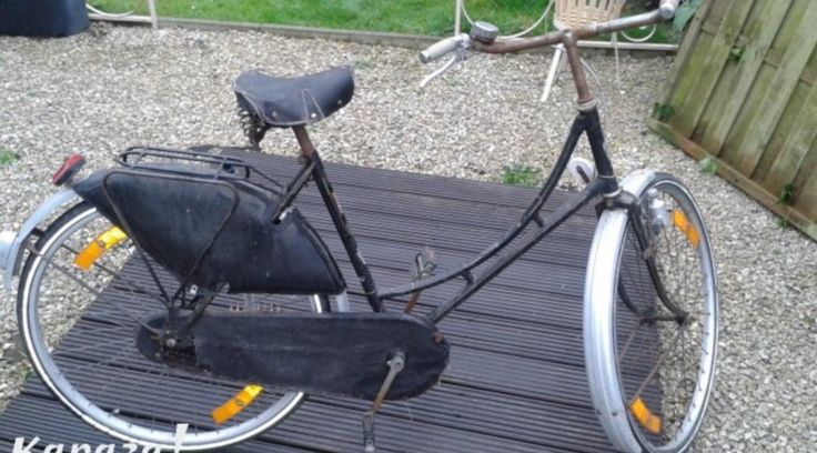 Oude Oma fiets