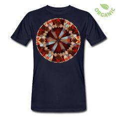 Mandala_Blaetter1 T-Shirts