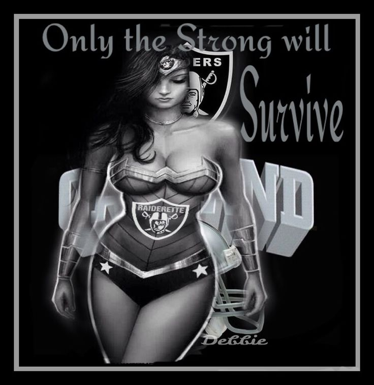 Only the strong will survive - Raiders