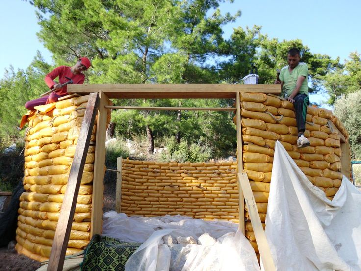Best Earthbag Building Images On Pinterest Earth House - Building earthbag house plans free