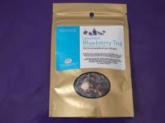 This 100% natural blueberry lavender tea comes from a farm in Nova Scotia.