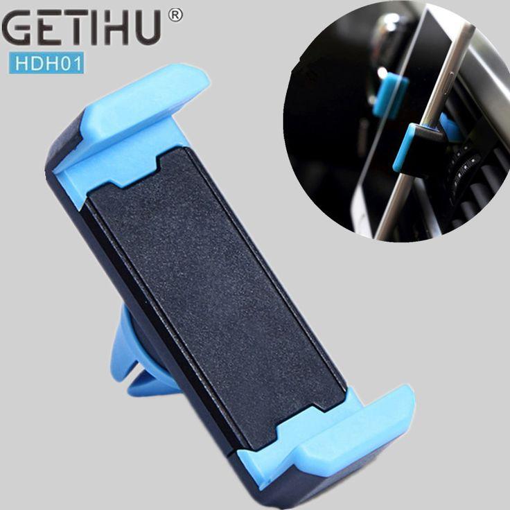 Pemegang mobil Mini Air Vent Gunung Magnet Magnetic Ponsel Ponsel pemegang universal untuk iphone 5 6 6s 7 gps bracket berdiri dukungan