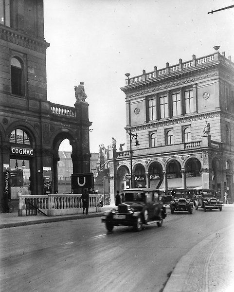 Hallesches Tor. 1928 © Landesarchiv Berlin Fotograf: Waldemar Titzenthaler