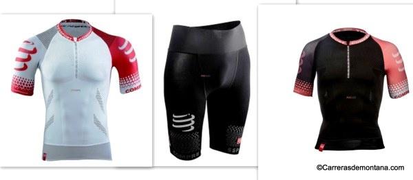 Compressport trail running ropa compresora: Nuevas Camiseta (72€) y malla corta (100€) Análisis y prueba 250k por Luis Alonso.