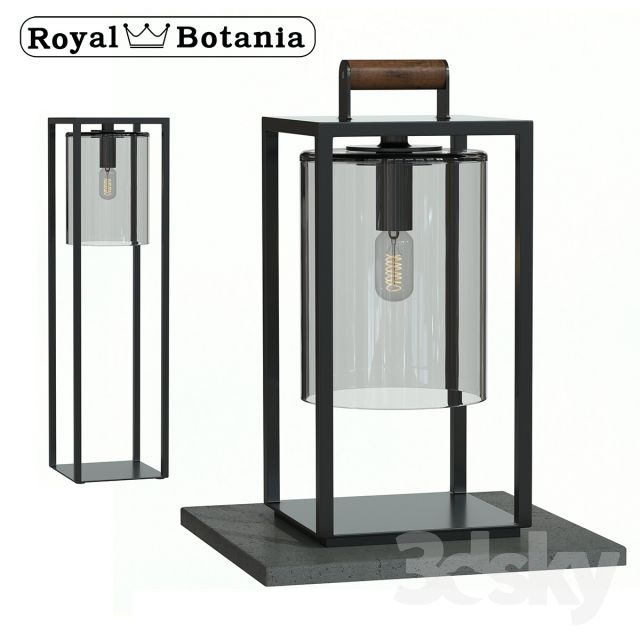 Royal Botania / street lights Dome