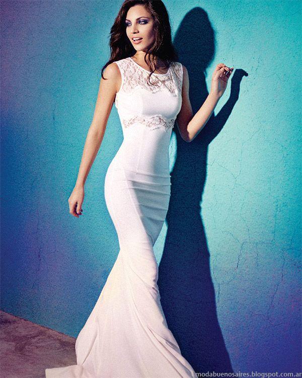 Las Oreiro vestidos de fiesta primavera verano 2015. Moda primavera verano 2015.