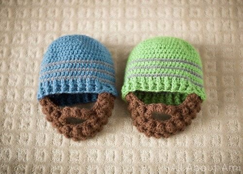 Crochet Bobble Beard  Infant Baby Toddler Photo Prop Lumberjack Hat Sweet Baby Girl or Boy CustomColors Face Warmer Winter Halloween Costume by IvonKaa on Etsy https://www.etsy.com/listing/472278788/crochet-bobble-beard-infant-baby-toddler