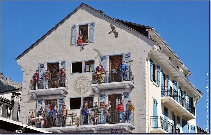 bureau des guides de Chamonix Mont-Blanc.
