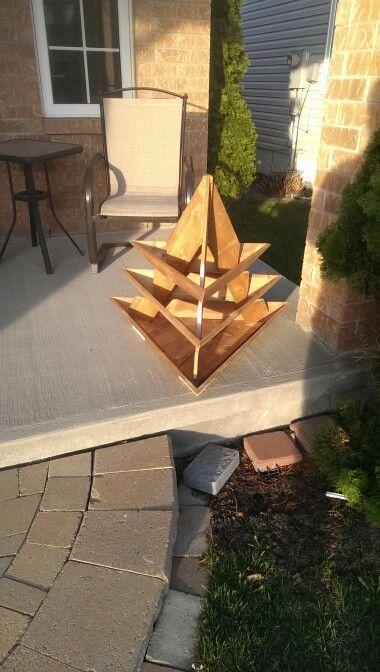 DIY Pyramid planter - prototype