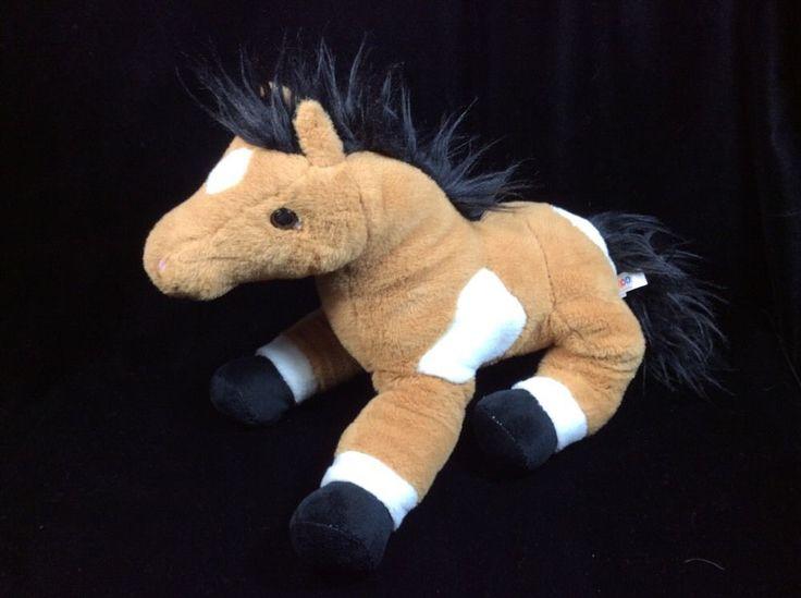 Circo Brown White Horse Pony Plush Soft Toy 12 Quot 2011