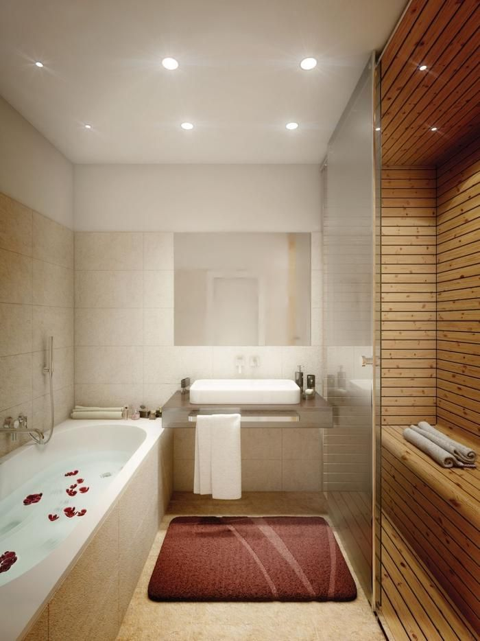Bathroom Sauna And Steam Room: Bathroom With Sauna