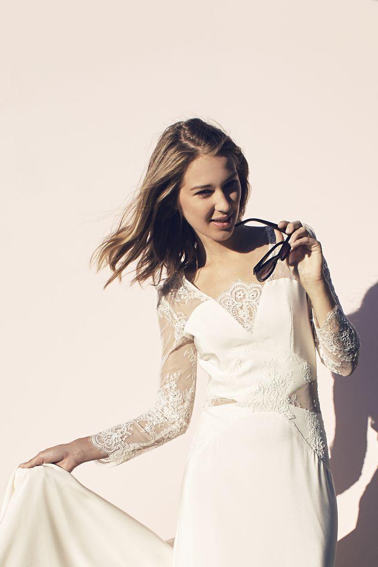 Robe Juliette, création de Caroline Takvorian - robes de mariée sur ...