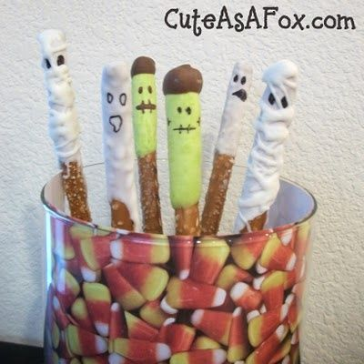 Ghoulish Halloween Snacks