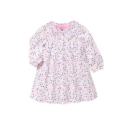 Mix Apparel Shirred Neckline dress