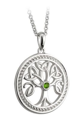 $85 Silver Tree of Life pendant