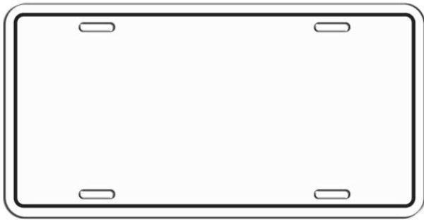 License Plate Template Printable Beautiful License Plate Template Google Search Nummerplaat Thema Verjaardag