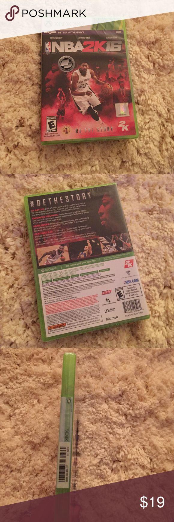NBA 2K16 brand new Xbox 360 Xbox 360 Accessories