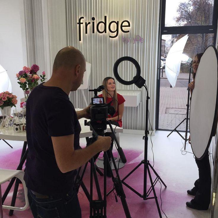 Kręcimy 😘🎬🎯#fridgebyyde #fridge_by_yde #moment #place
