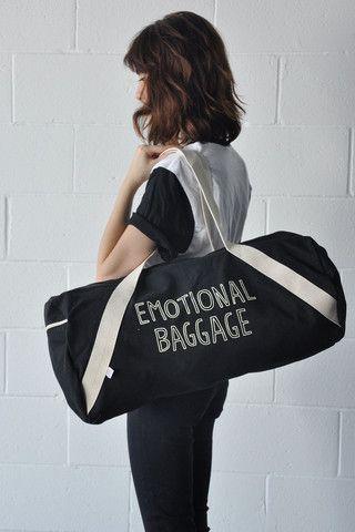 Emotional Baggage Sleepover Bag