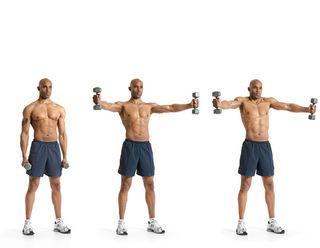 Make out Hardcore shoulder workouts