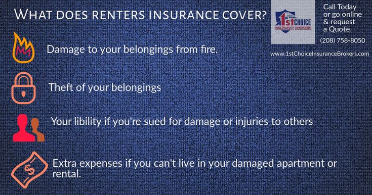 Do you have renters insurance give us a like