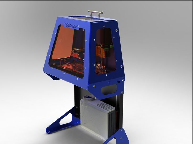 B9 Creator - High resolution resin-based 3d printer