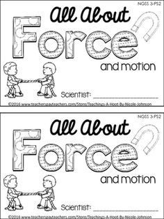 7 best force and motion science images on Pinterest