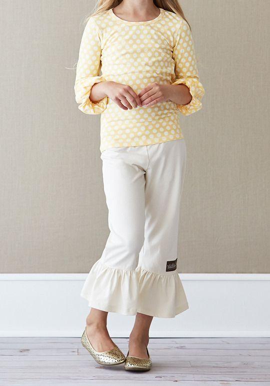 d1207e786184 Matilda Jane Eggshell Knit Big Ruffles from Secret Fields collection