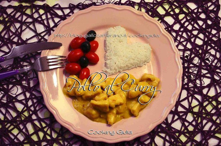 Pollo al Curry con latte di cocco