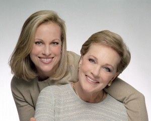 Authors Emma Hamilton (left) & Julie Andrews (right).