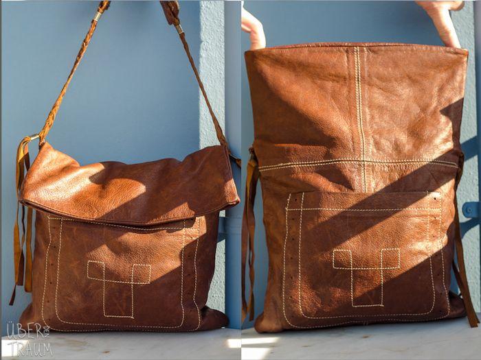 90's Ally Capellino Leather Shoulder Bag - Über den Traum