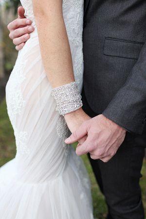 jeweled cuff #wedding   Vine & Light