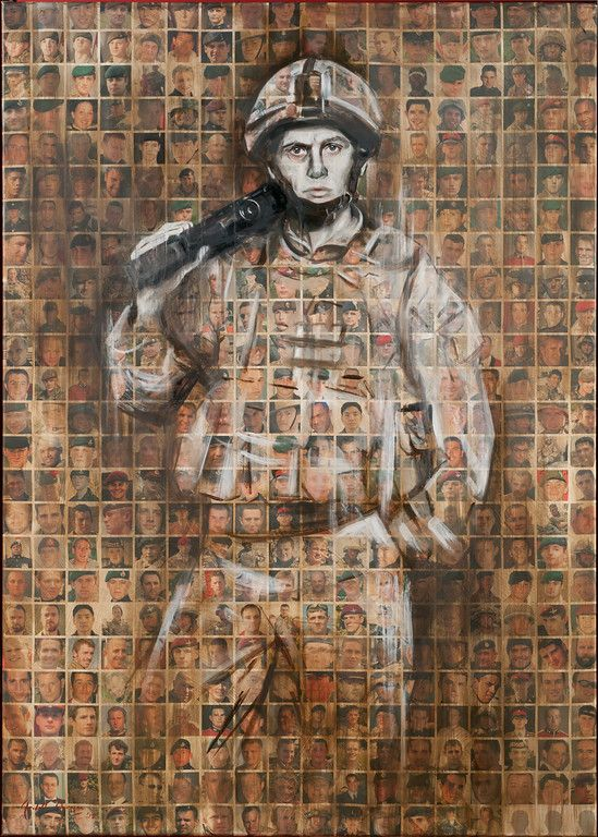 Faces of the Fallen - Arabella Dorman | ART in 2019 | Art ...
