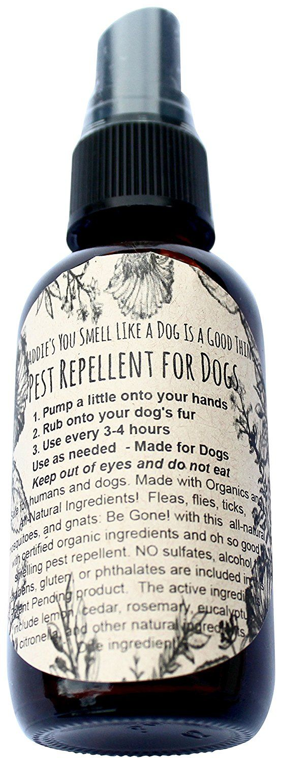 You Smell Like A Dog Is A Good Thing PestRepellent4oz Tick, Mosquito, Flea And Other Pests Repellent for Dogs And Humans * For more information, visit now : Camping supplies