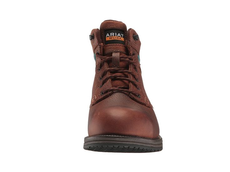 Ariat Casual Work Mid Lace SD CT Women's Work Boots Nutty Brown