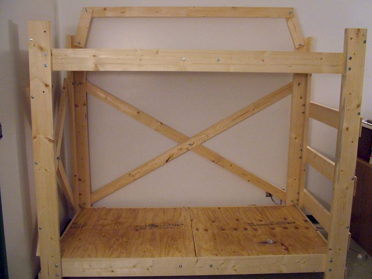 Loft bed plans for twin, twin long, full, bunkbed, queen ...