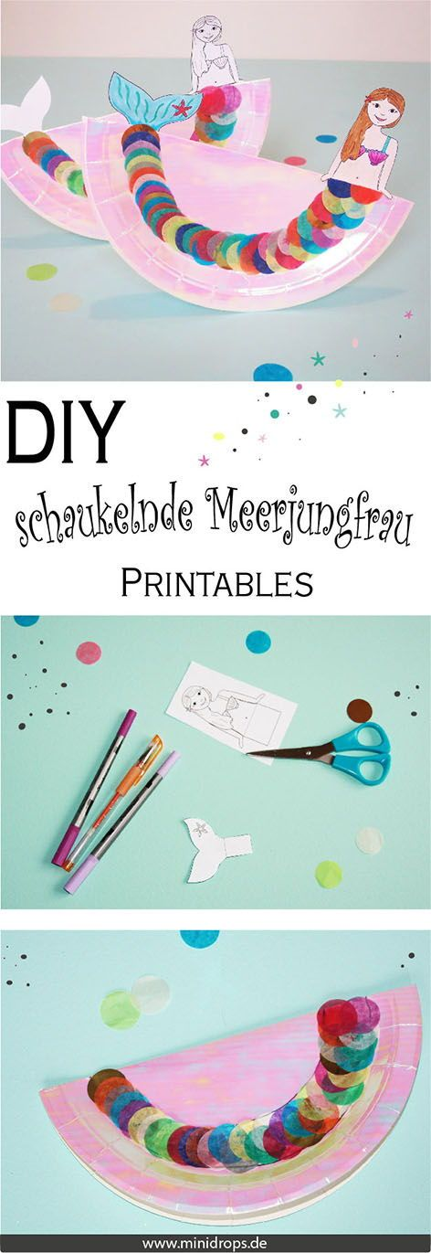 We'll show you how to make this glittering DIY swinging mermaid easy. The most adorable eye-catcher on the next sea …