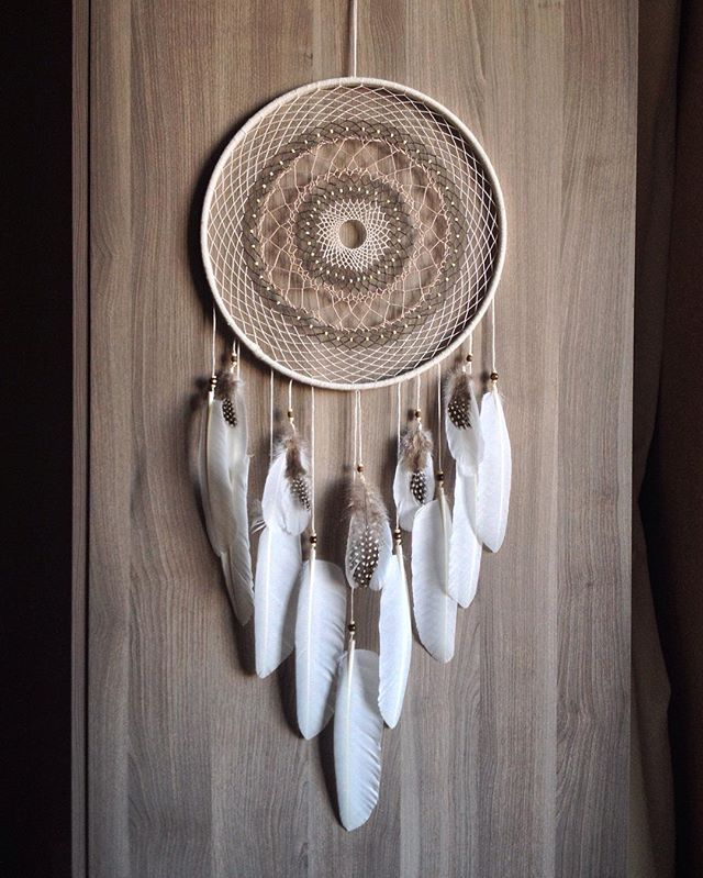 "Ловец снов ""Venus""   dreamcatcher handmade beads witch witchcraft bone feathers pagan forsale ловец снов перья"