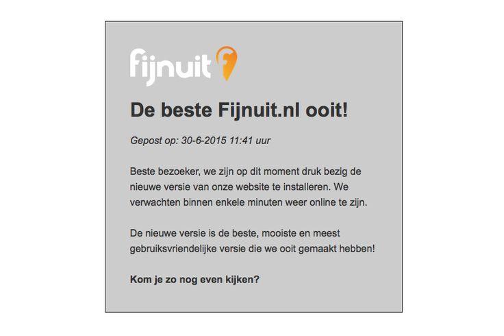 De beste Fijnuit.nl ooit!