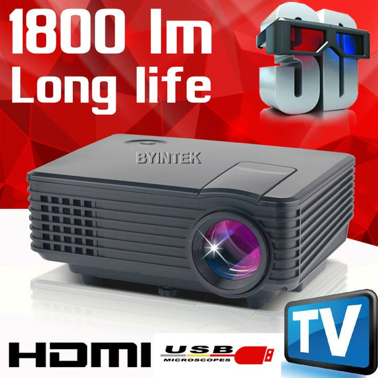 New 800×480 mini 1800lumens Home Theater Video LCD Tv pICo HDMI Portable fULi hD 1080P LED projector 3D Projektor Proyector - shop onlineBYINTEK Best Projector New BT905 800×480 mini 1800lumens Home Theater Video LCD Tv pICo HDMI Portable fULi hD 1080P LED projector 3D Projektor Proyector Important Note : Support red blue 3D only (can not play Blue Ray 3D ,DLP 3D) please learn what is red blue 3D before Purchase . we do not provide 3D ...