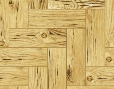 Realistic vector wood floor background. This is a light brown parquet constructed from many small hardwood plates. Realistic high quality wood texture was used for this illustration. License: Creative Commons Attribution Format: .EPS