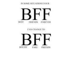 You my friend are a bitchy fake friend  </div> </div> <div style=