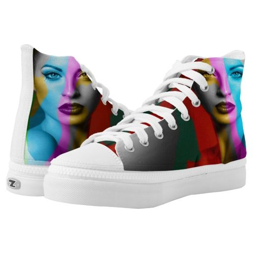 Just Colours Printed Shoes