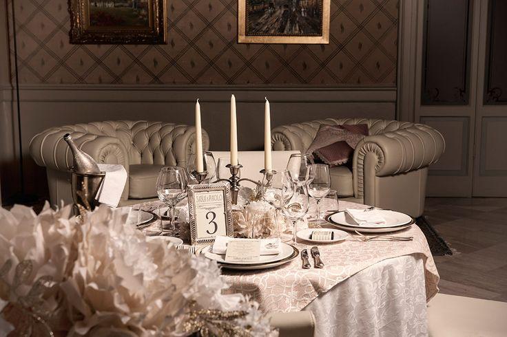 Gallery   Miss Wedding Design,  location liberty style, mise en place vintage, pom pom glitter