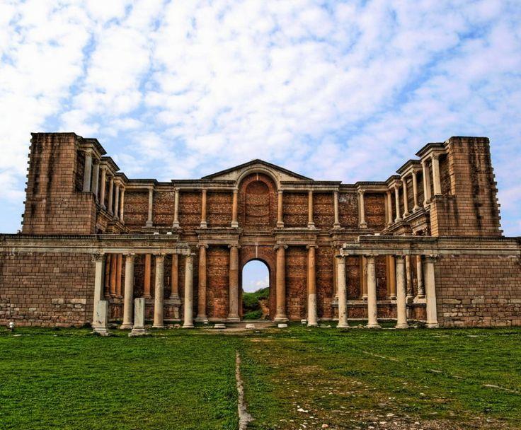 Gymnasium, Sardes Ancient City, Salihli Town, Manisa Province, Aegean Region, Turkiye