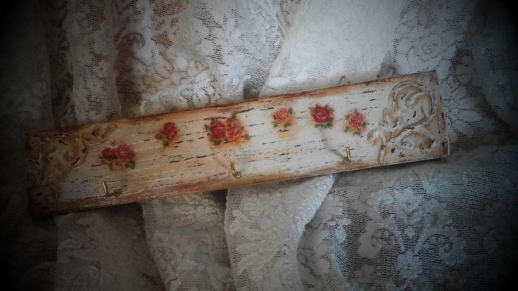 Decoupage in wood  tutorial !