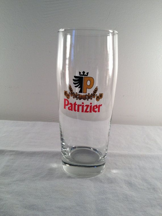 Patrizier beer glass .5L Veba 7.5in by ugliducklings on Etsy