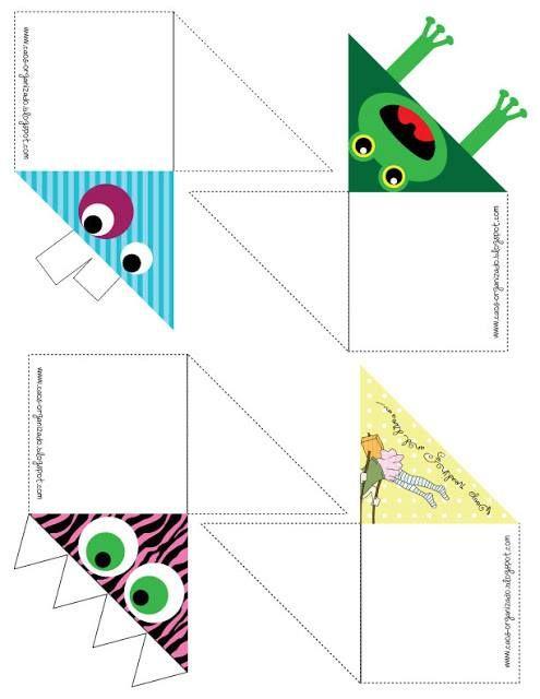 Rosearts- Atividades para imprimir: Marcadores de páginas lindos para imprimir